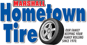 Marshall Hometown Tire Logo